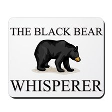 The Black Bear Whisperer Mousepad