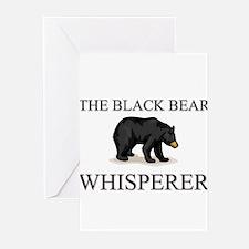 The Black Bear Whisperer Greeting Cards (Pk of 10)