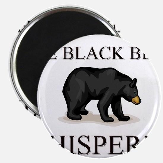 The Black Bear Whisperer Magnet