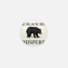 The Black Bear Whisperer Mini Button (10 pack)