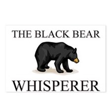 The Black Bear Whisperer Postcards (Package of 8)