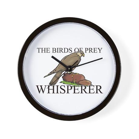 The Birds Of Prey Whisperer Wall Clock