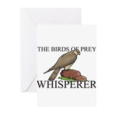 The Birds Of Prey Whisperer Greeting Cards (Pk of