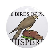The Birds Of Prey Whisperer Ornament (Round)