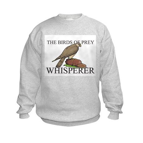 The Birds Of Prey Whisperer Kids Sweatshirt