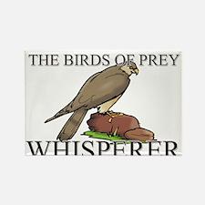 The Birds Of Prey Whisperer Rectangle Magnet