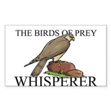 The Birds Of Prey Whisperer Rectangle Decal