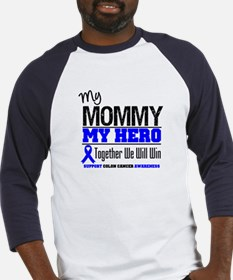 ColonCancerHero Mommy Baseball Jersey