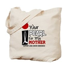 I Wear Pearl For My Mother 9 Tote Bag