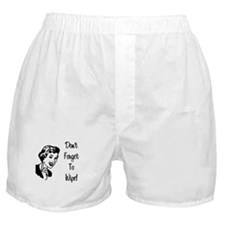 Don't Forget To Wipe Boxer Shorts