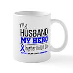 ColonCancerHero Husband Mug