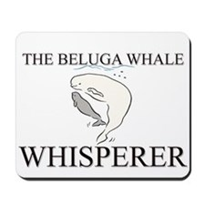The Beluga Whale Whisperer Mousepad