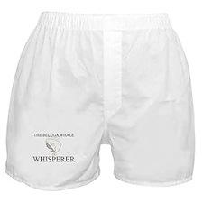 The Beluga Whale Whisperer Boxer Shorts