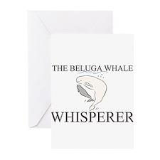 The Beluga Whale Whisperer Greeting Cards (Pk of 1