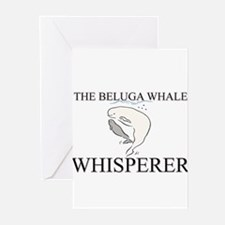The Beluga Whale Whisperer Greeting Cards (Pk of 1