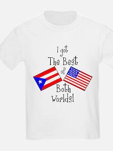 """Puerto Rican American"" T-Shirt"