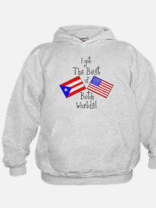 """""""Puerto Rican American"""" Hoodie"""