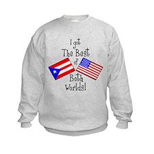 """Puerto Rican American"" Sweatshirt"