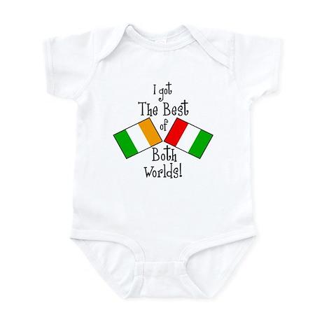 """Irish-Italian Kid"" Infant Bodysuit"