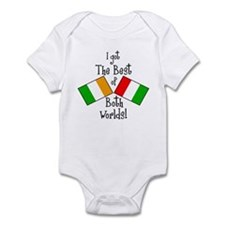 """Irish-Italian Kid"" Infant Bodysuit"