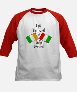 """Irish-Italian Kid"" Kids Baseball Jersey"