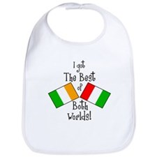 """Irish-Italian Kid"" Bib"