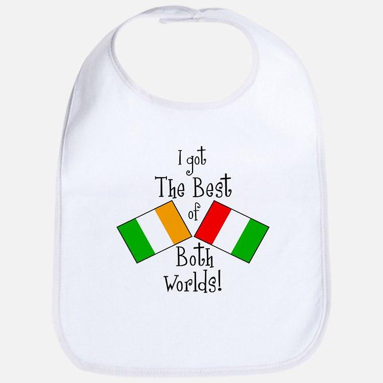 """""""Irish-Italian Kid"""" Bib"""