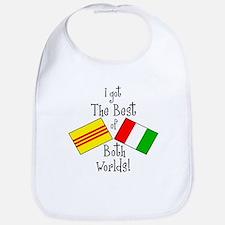 """""""Vietalian Kids"""" Bib"""