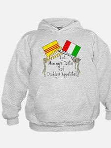 """""""Vietalian Kids - Food"""" Hoodie"""