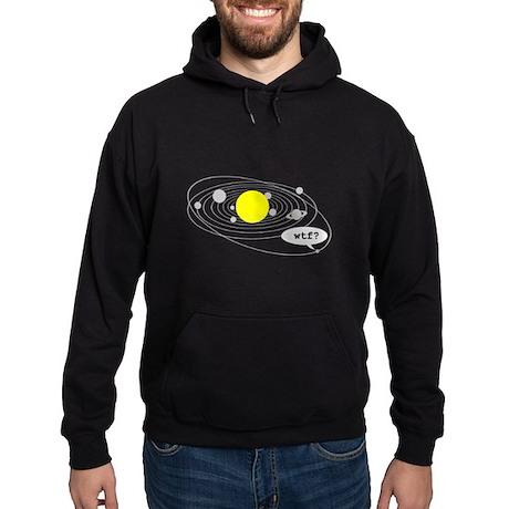 """""""Poor Pluto"""" Hoodie (dark)"""