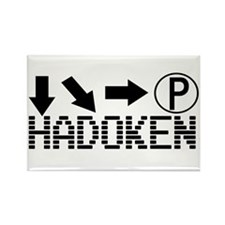 Hadoken Rectangle Magnet