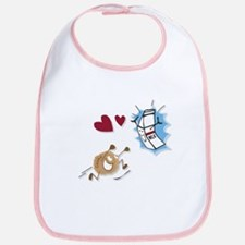 Milk and Cookies Bib