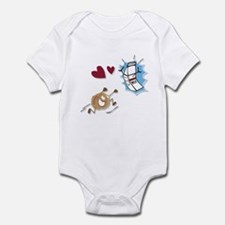 Milk and Cookies Infant Bodysuit