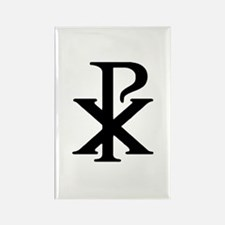 """""""Chi Rho"""" Rectangle Magnet (10 pack)"""