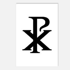"""""""Chi Rho"""" Postcards (Package of 8)"""