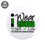 "SCT I Wear Green 3.5"" Button (10 pack)"