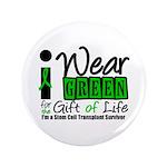 "SCT I Wear Green 3.5"" Button (100 pack)"