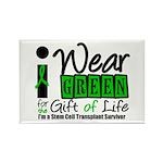 SCT I Wear Green Rectangle Magnet