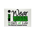SCT I Wear Green Rectangle Magnet (10 pack)