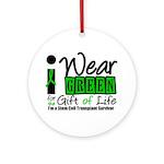 SCT I Wear Green Ornament (Round)