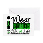 SCT I Wear Green Greeting Card