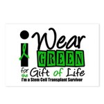 SCT I Wear Green Postcards (Package of 8)
