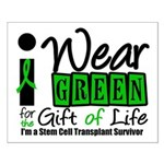 SCT I Wear Green Small Poster