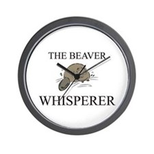 The Beaver Whisperer Wall Clock
