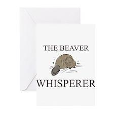 The Beaver Whisperer Greeting Cards (Pk of 10)