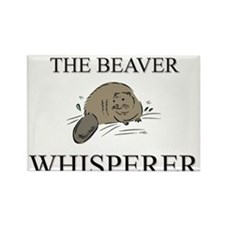 The Beaver Whisperer Rectangle Magnet