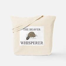 The Beaver Whisperer Tote Bag