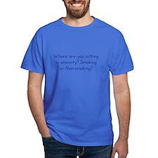 Smoking or Nonsmoking T-Shirt