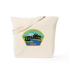 Lake Shastina Police Tote Bag