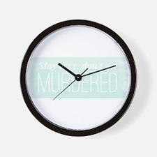 Cute Podcast Wall Clock